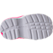 Bottom view of Girls' Toddler Jordan Trunner LX Training Shoes in Hyper Pink/White