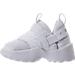 Left view of Boys' Toddler Jordan Trunner LX Training Shoes in White/Pure Platinum
