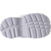 Bottom view of Boys' Toddler Jordan Trunner LX Training Shoes in White/Pure Platinum