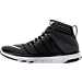 Left view of Men's Nike Free Train Instinct 2 Training Shoes in Black/White/Dark Grey