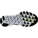 Bottom view of Men's Nike Free Train Instinct 2 Training Shoes in Black/White/Dark Grey