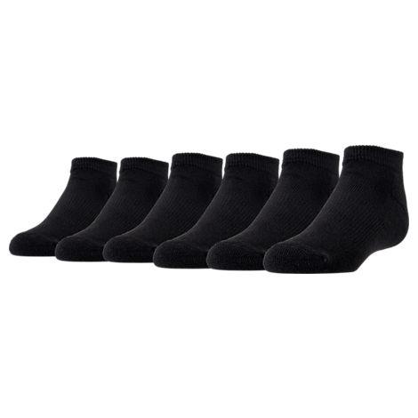 Kids' Preschool Finish Line 6-Pack Low Cut Socks