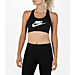 Women's Nike Pro Swoosh Futura Sports Bra Product Image