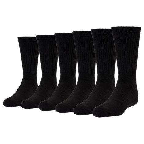 Kids' Finish Line 6-Pack Crew Socks
