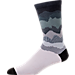 Front view of Sof Sole 360 Digital Design Crew Socks in Mountain