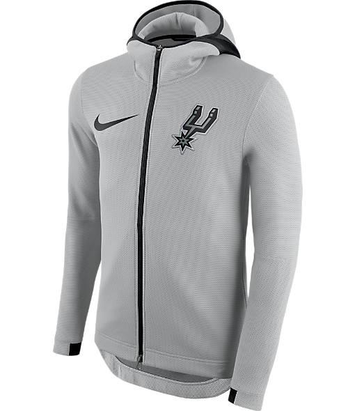 Men's Nike San Antonio Spurs NBA On Court Collection Showtime Hoodie