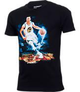 Kids' adidas Golden State Warriors NBA Stephen Curry Driving Force T-Shirt
