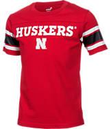 Kids' Nike Nebraska Cornhuskers College Youth Loyal Fan T-Shirt