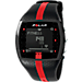 Alternate view of Polar FT7 Heart Rate Monitor in Black/Red