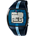 Alternate view of Polar FT4 Heart Rate Monitor in Blue