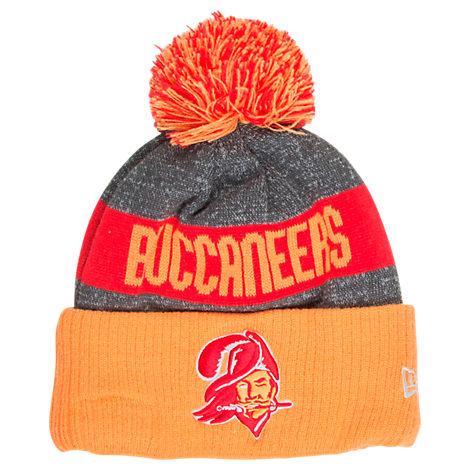 New Era Tampa Bay Buccaneers NFL Sideline Classic Pom Knit Hat