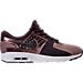 Right view of Women's Nike Air Max Zero Premium Running Shoes in Port Wine/Metallic Mahogany