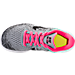 Top view of Girls' Preschool Nike Free RN 2017 Running Shoes in Wolf Grey/Black/Racer Pink
