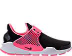 Girls' Grade School Nike Sock Dart Running Shoes