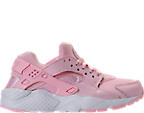 Girls' Grade School Nike Air Huarache Run SE Running Shoes