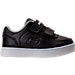 Right view of Boys' Toddler Skechers Energy Lights Gusto Casual Shoes in Black/White