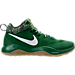 Right view of Men's Nike Zoom HyperRev 2017 LMTD Basketball Shoes in Pine Green/White/Electric Green