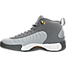 Left view of Men's Air Jordan Jumpman Pro Basketball Shoes in Cool Grey/White/Wolf Grey
