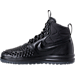 Left view of Men's Nike Lunar Force 1 2017 Duckboots in Black/Anthracite