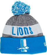 New Era Detroit Lions NFL Sideline Classic Pom Knit Hat
