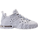 Right view of Men's Nike Air Max CB '94 Low Basketball Shoes. in Triple White