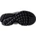 Bottom view of Boys' Preschool Nike Presto Fly Casual Shoes in Black/Black/Black