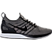 Right view of Men's Nike Air Zoom Mariah Flyknit Racer Running Shoes in Pale Grey/Black/Solar Red