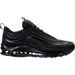 Right view of Men's Nike Air Max 97 UL 2017 Running Shoes in Black/Black