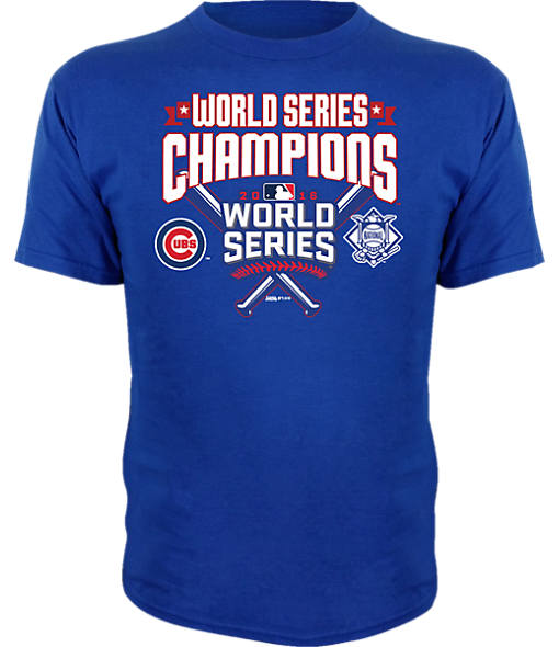 Kid's Dynasty Chicago Cubs MLB World Series Championship T-Shirt