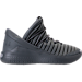 Right view of Boys' Grade School Jordan Flight Luxe Shoes in Cool Grey/Wolf Grey/Cool Grey