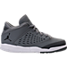 Right view of Boys' Preschool Jordan Flight Origin 4 Basketball Shoes in Cool Grey/Black/Dark Grey