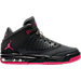 Right view of Girls' Grade School Jordan Flight Origin 4 (3.5y - 9.5y) Basketball Shoes in Anthracite/Deadly Pink/Black