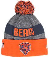 New Era Chicago Bears NFL Sideline Classic Pom Knit Hat