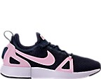 Girls' Grade School Nike Duel Racer Running Shoes