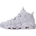 Left view of Men's Nike Air More Uptempo '96 Basketball Shoes in