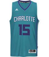 Men's adidas Charlotte Hornets NBA Kemba Walker Swingman Jersey