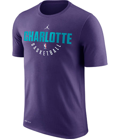 Men's Air Jordan Charlotte Hornets NBA Dry Practice T-Shirt
