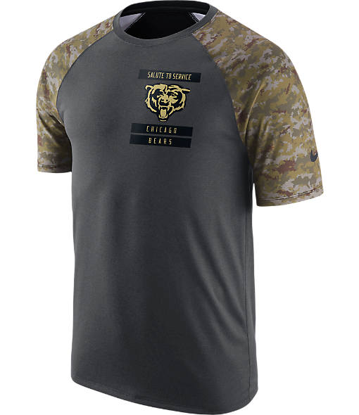 Men's Nike Chicago Bears NFL Salute to Service T-Shirt