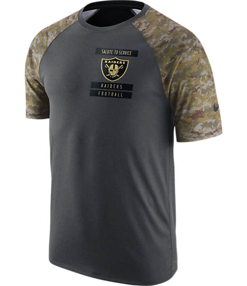 Men's Nike Oakland Raiders NFL Salute to Service T-Shirt