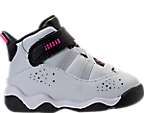 Girls' Toddler Jordan 6 Rings Basketball Shoes