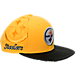 Front view of New Era Pittsburgh Steelers NFL Sideline Classic Snapback Hat in TEM