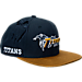 Front view of New Era New York Jets NFL Sideline Classic Snapback Hat in TEM