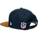 Back view of New Era New York Jets NFL Sideline Classic Snapback Hat in TEM