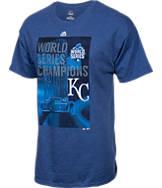 Men's Majestic Kansas City Royals Pride MLB World Series 2015 T-Shirt
