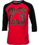 Boys' Jordan 3/4 Raglan Shirt