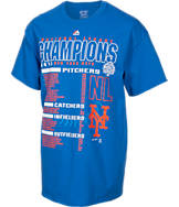 Men's Majestic New York Mets MLB World Series 2015 Roster T-Shirt