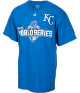 Men's Majestic Kansas City Royals MLB World Series 2015 Participant T-Shirt