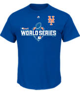 Men's Majestic New York Mets MLB World Series 2015 Participant T-Shirt