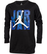 Boys' Jordan Jumpman Flight Flex Dri-FIT Long-Sleeve T-Shirt