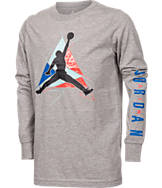 Boys' Jordan Retro 7 Long-Sleeve T-Shirt